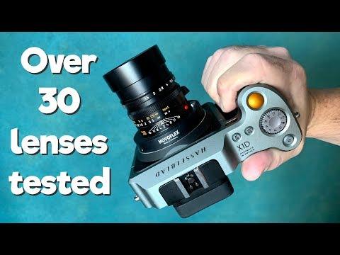 Full frame lenses on Medium Format X1D camera