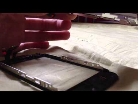 Enlever la poussière dans l'écran d'un iPhone 3G / Dépoussiérer l'écran d'un iPhone 3G ou 3GS