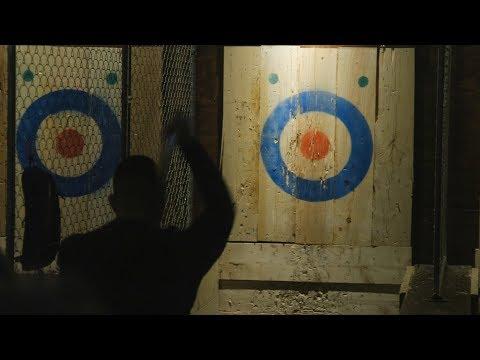 Axe-throwing hits Metro Detroit