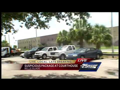 Suspicious package delivered to courthouse mailroom