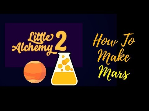 Little Alchemy 2-How To Make Mars Cheats & Hints