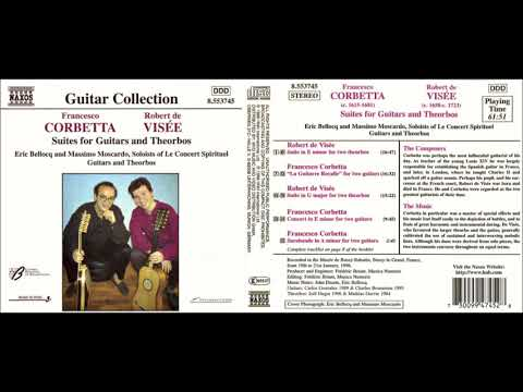 Francesco Corbetta / Robert de Visée - E.Bellocq / M.Moscardo – Suites For Guitars And Theorbos