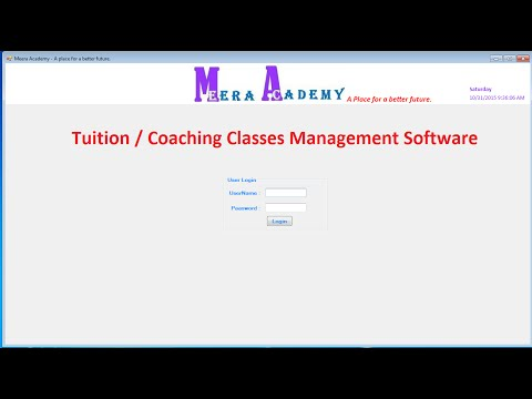 Student Management System Software in ASP.Net