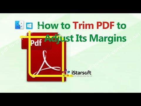 Crop a PDF - How to Trim PDF to Adjust Its Margins