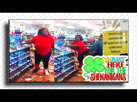 Just Shenanigans Ep. 6 - Person Ruins Store After EBT Card Declined!