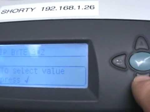 IP Address Set on 4200
