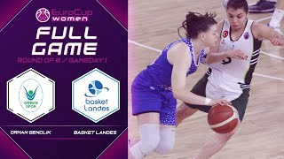 Orman Genclik V Basket Landes Full Game EuroCup Women 2019 20