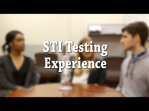 What is it like to get tested for an STI?