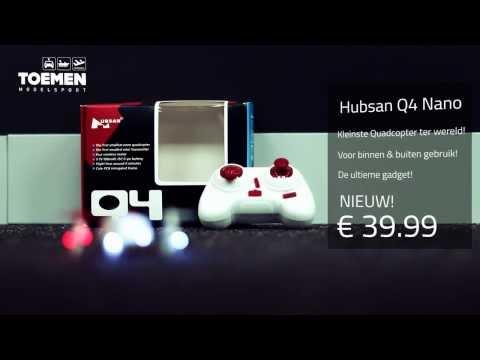 Hubsan Q4 Nano quadcopter - Toemen.nl