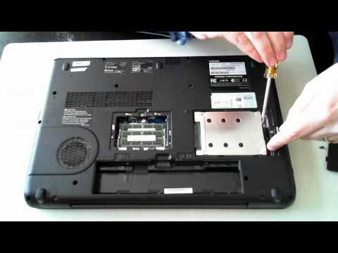 Toshiba Satellite Pro L500 Memory & HDD Upgrade