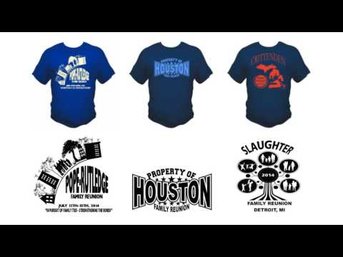 Family Reunion T-shirt designs only $25!!
