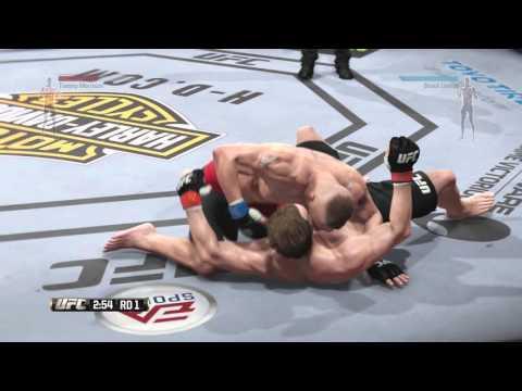 EA Sports UFC Boxer Vs MMA Tommy Morrison Vs Brock Lesnar