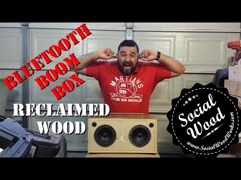 DIY How to make the BEST Bluetooth Speaker EVER!