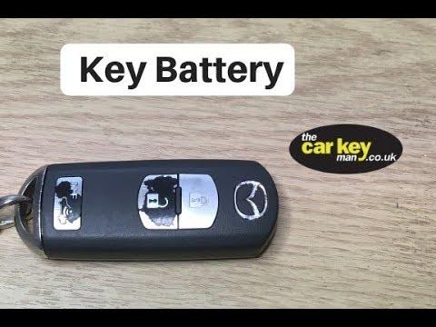 Key Battery Mazda proximity smart Key