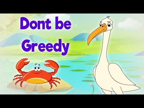 Dont Be Greedy - Panchatantra In English - Cartoon / Animated Stories For Kids