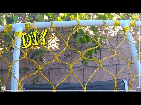 How To Tie A Soccer Goal Net