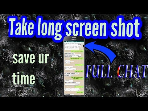 How to take long full screen shot ? in android [BEST APP]