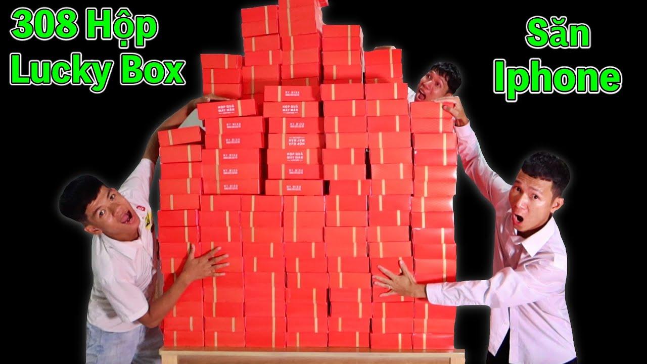 Tôi Đã Dùng 30 Triệu Để Mua 300 Hộp Quà May Mắn Lucky Box Trúng Iphone X