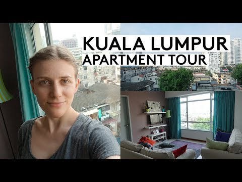 KUALA LUMPUR AIRBNB APARTMENT TOUR