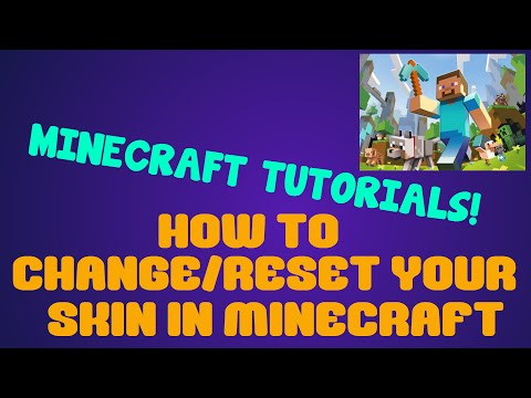 How to Change/Reset Your Minecraft Skin | Minecraft 1.8.7