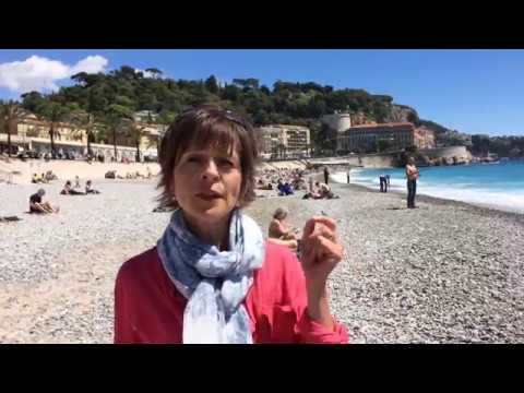 Viktorija Todorovska on Salad Nicoise in Nice