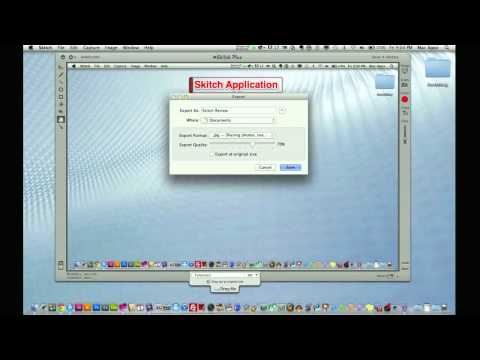 App Review - Mac Application Skitch Full Review (Screen Capture Application)