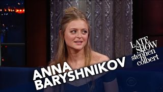 Anna Baryshnikov Had To Be Talked Out Of Attending Prom At 22