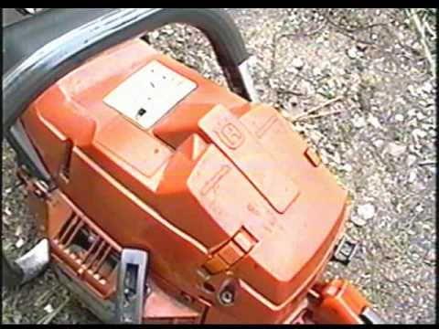 Husqvarna 365 Chainsaw Bar Oil Output Adjustment