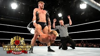 Tyler Bate vs. Mark Andrews - WWE U.K. Championship Match: WWE U.K. Championship Special, May 19,..