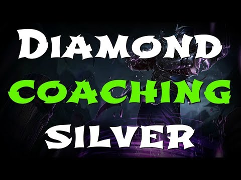 DIAMOND coaching SILVER - League of Legends