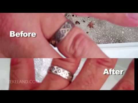 How to Clean Silver Tarnish With Baking Soda