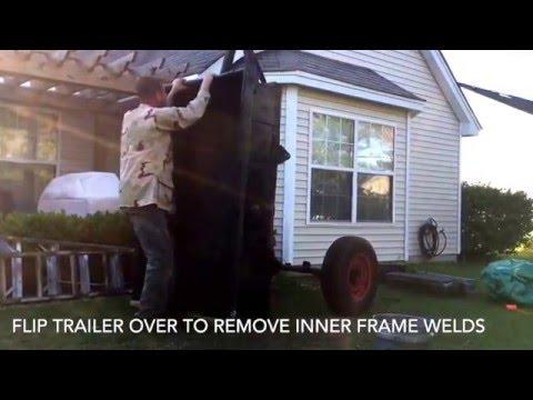 Day Three Bantam Trailer... Haines Garage