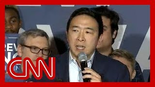 Andrew Yang suspends 2020 presidential campaign