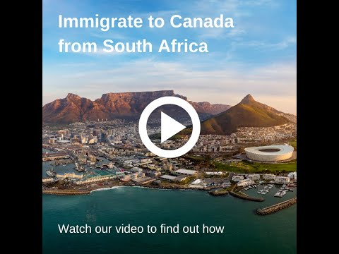 Immigrate to Canada from South Africa