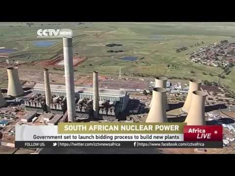 South African nuclear power; Government set to launch bidding process to build new plants