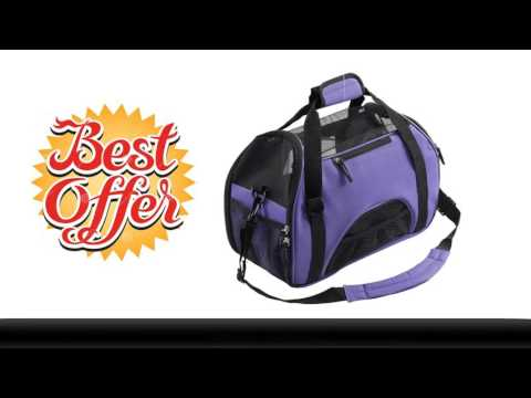 Pettom Traveling Pet Carrier for Dogs & Cats - Airline Approved