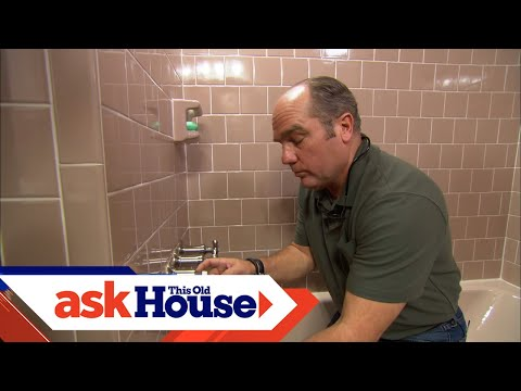 How to Repair a Shower Valve Stem