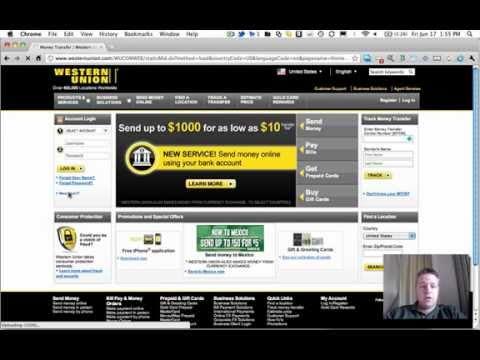Western Union Registration Part1