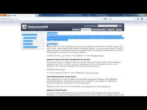 Selenium IDE -  Setup as Add-On to Mozilla Firefox