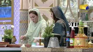 Geo Ramzan Iftar Transmission - Aloo Gosht Recipe by Naheed Ansari - Ehsaas Ramzan
