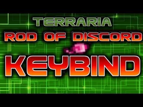Terraria - Tips & Tricks! Rod of Discord KEYBIND Tutorial