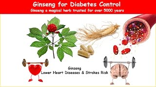 """Ginseng a magical herb trusted for over 5000 years for its ability to promote vigor, lower blood sugar & cholesterol, and increases immunity. Additionally useful for the treatment of debility by old age or illness, appetite loss, insomnia, stress, and shock.  Learn more by visiting Ginseng for Diabetes http://healthy-ojas.com/diabetes/diabetes-and-ginseng.html  If you like this video, I request you to like the video by pressing thumbs-up. If you do not like this video, I request your valuable view as comment please do not press dislike.  You may also be interested in: Diabetes Herbal Fenugreek https://www.youtube.com/watch?v=q1NqNlL6_w8 Diabetes Herbal Cinnamon - https://www.youtube.com/watch?v=0lvUSftmI3Y Diabetes Herbal Bitter melon - https://www.youtube.com/watch?v=PMNumLcvInE Diabetes Herbal Aloe Vera - https://www.youtube.com/watch?v=WPxJc7BjcUs Diabetes Herbal Salacia Oblonga - https://www.youtube.com/watch?v=QkoXQIt6Y2I Diabetes Herbal Ivy gourd - https://www.youtube.com/watch?v=E6ac7XdCsX0  -~-~~-~~~-~~-~- Please watch: """"Cholesterol Screening Test does not require Fasting""""  https://www.youtube.com/watch?v=pSVgD6Br3_4 -~-~~-~~~-~~-~-"""