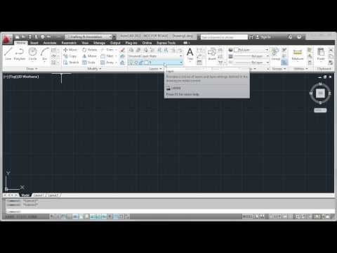 AutoCAD Quick Tip: Adding tools to the QuickAccess Toolbar