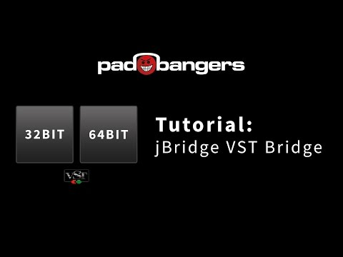 Tutorial: How to use 32 Bit Plugins in your 64 Bit DAW with jBridge