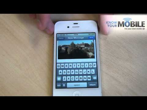 How to embed multiple pictures in an email on the iPhone 4S