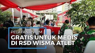 Polisi Siapkan Pelayanan Perpanjang SIM Gratis untuk Tenaga Medis di RSD Wisma Atlet Kemayoran