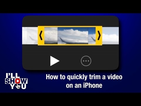 How to quickly trim a video on an iPhone