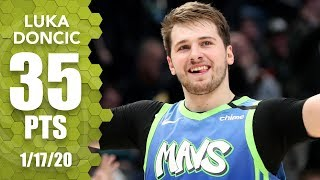 Luka Doncic hits clutch three in career night for Mavericks vs. Blazers | 2019-20 NBA Highlights