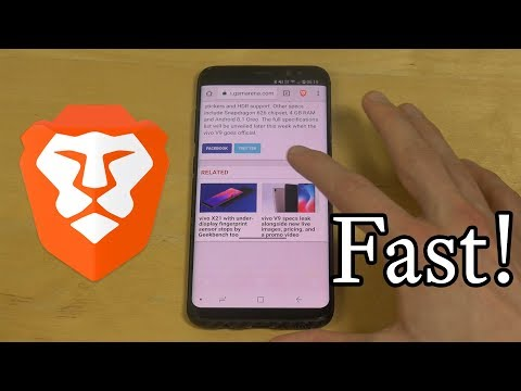 Best Android Browser! Samsung Galaxy S8 Review! Super Fast Speeds!