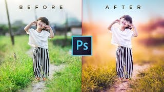 Photoshop Tutorial   CC 2017   Camera Raw Filter   How to edit photo with Photoshop